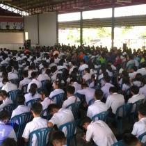 ปฐมนิเทศนักศึกษาใหม่ ปีการศึกษา 2557