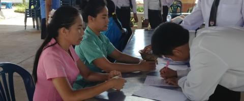 การนำเสนอโครงการสำเร็จการศึกษา ประจำปี 2557
