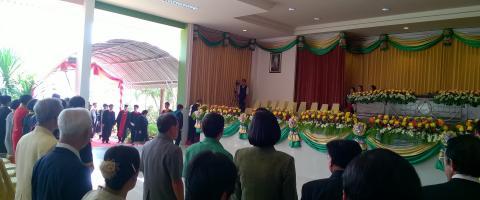 งานรับวุฒิบัตรผู้สำเร็จการศึกษา ปีการศึกษา 2558 (สาขาคง)