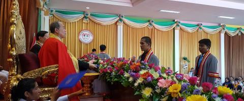 พิธีรับวุฒิบัตรผู้สำเร็จการศึกษา 2561 ณ สาขาคง
